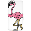 Awesome Funny Pink Flamingo Bird Phone Case