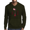 Awesome Funny Pink Giraffe Pink Power Art Mens Hoodie