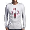 Awesome Funny Pink Giraffe Pink Power Art Mens Long Sleeve T-Shirt