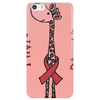 Awesome Funny Pink Giraffe Pink Power Art Phone Case