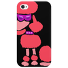 Awesome Funny Pink Poodle Dog Art Phone Case