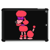 Awesome Funny Pink Poodle Dog Art Tablet