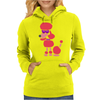 Awesome Funny Pink Poodle Dog Art Womens Hoodie