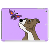 Awesome Funny Pitbull Puppy and Butterfly Tablet