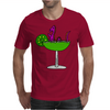 Awesome Funny Purple Loch Nes Monster in Margarita Mens T-Shirt