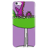 Awesome Funny Purple Loch Nes Monster in Margarita Phone Case