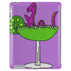 Awesome Funny Purple Loch Nes Monster in Margarita Tablet