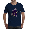 Awesome Funny Purple Turtle with Stars and Moon Art Mens T-Shirt