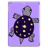 Awesome Funny Purple Turtle with Stars and Moon Art Tablet