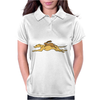 Awesome Funny Rabbit Riding Greyhound Racing Dog Womens Polo