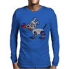 Awesome Funny Robot Dog Mens Long Sleeve T-Shirt