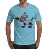 Awesome Funny Robot Dog Mens T-Shirt