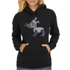 Awesome Funny Robot Dog Womens Hoodie