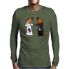 Awesome Funny Sea Otter Wedding Mens Long Sleeve T-Shirt