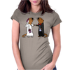 Awesome Funny Sea Otter Wedding Womens Fitted T-Shirt