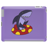 Awesome Funny Shark Tubing Tablet