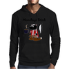 Awesome Funny Skunk Hates Mondays Mens Hoodie