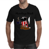 Awesome Funny Skunk Hates Mondays Mens T-Shirt