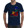 Awesome Funny Snake in Hiking Boot Mens T-Shirt