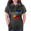 Awesome Funny Snake in Hiking Boot Womens Polo