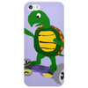 Awesome Funny Turtle Riding Hoverboard Phone Case