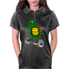 Awesome Funny Turtle Riding Hoverboard Womens Polo