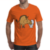 Awesome Funny Warthog Drinking from Toilet Bowl Mens T-Shirt