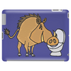 Awesome Funny Warthog Drinking from Toilet Bowl Tablet
