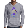 Awesome Gaping Shark Jaws Beach Abstract Mens Hoodie