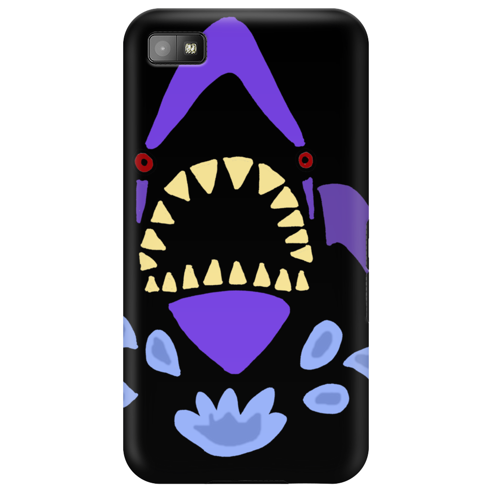 Awesome Gaping Shark Jaws Beach Abstract Phone Case