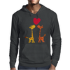Awesome Giraffes in Love Original Art Mens Hoodie