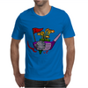 Awesome Golfing Abstract Art Original Mens T-Shirt