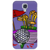 Awesome Golfing Abstract Art Original Phone Case