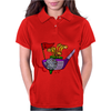 Awesome Golfing Abstract Art Original Womens Polo