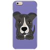 Awesome Gray Pitbull Puppy Dog Art Phone Case