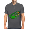 Awesome Green Frog Abstract Art Mens Polo