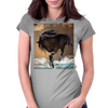 Awesome horse Womens Fitted T-Shirt