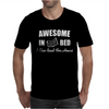 Awesome In Bed I can read for hours funny Mens T-Shirt