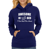Awesome In Bed I can read for hours funny Womens Hoodie