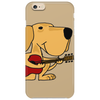 Awesome Labrador Retriever Dog Playing Guitar Phone Case