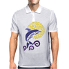 Awesome Leaping Dolphin in the Sunlight Mens Polo