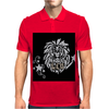 Awesome Leo Lion Zodiac Astrology Sign Art Mens Polo
