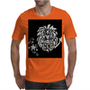 Awesome Leo Lion Zodiac Astrology Sign Art Mens T-Shirt