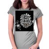Awesome Leo Lion Zodiac Astrology Sign Art Womens Fitted T-Shirt