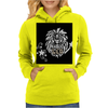 Awesome Leo Lion Zodiac Astrology Sign Art Womens Hoodie