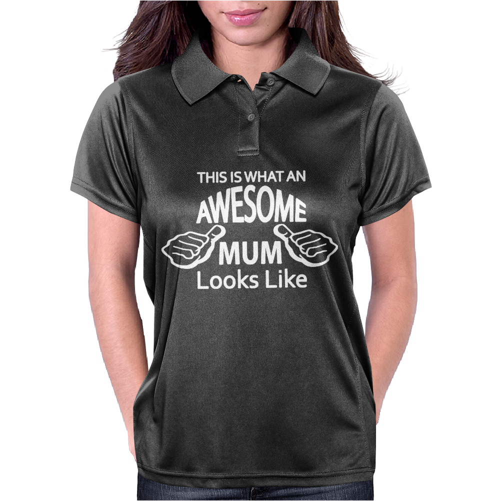 Awesome Mum Womens Polo