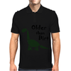 Awesome Older than Dirt Old Age Cartoon Mens Polo