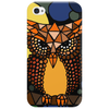 Awesome Owl and Moon Original Abstract Art Phone Case