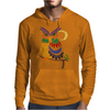 Awesome Owl Art Abstract Mens Hoodie