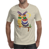 Awesome Owl Art Abstract Mens T-Shirt